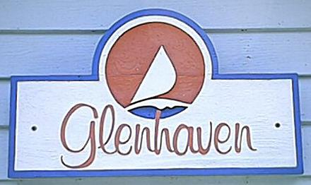 Glen Haven Sign
